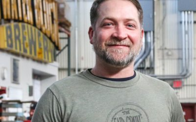 Chris Behm of End Grain Woodworking on the importance of salvaging historic Detroit lumber, the future of upcycling, and his work with Bellflower